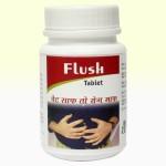 Flush tab